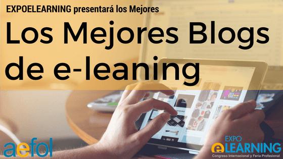 EXPOELEARNING presentará por primera vez los mejores Blogs de e-learning de España y Latinoamérica