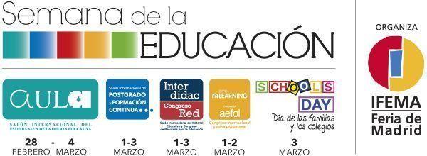 SEMANA DE LA EDUCACIÓN 2018, la principal feria del sector educativo en España