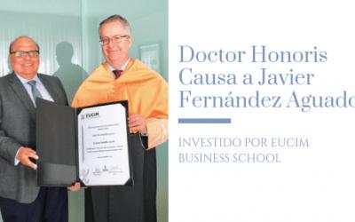 Doctorado Honoris Causa a Javier Fernández Aguado