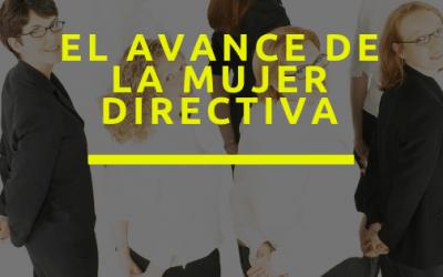 El avance de la mujer directiva