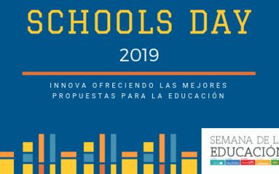 SCHOOLS DAY 2019 ofrece las mejores propuestas para la escolarización