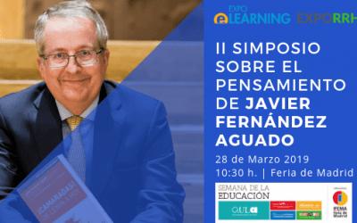 EXPORRHH acogerá el II Simposio sobre Javier Fernández Aguado, en la SEMANA DE LA EDUCACIÓN