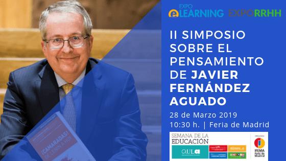 Salvador Molina participará en el simposio sobre el pensamiento de Javier Fernández Aguado