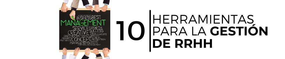 10 herramientas para la gestión de RRHH