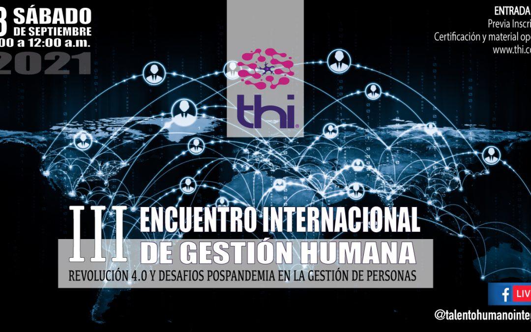 Participación en el III Encuentro Internacional de Gestión Humana